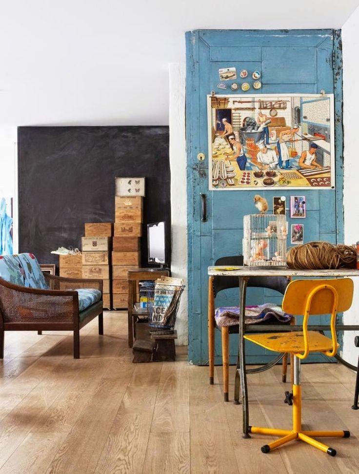 #excll #дизайнинтерьера #решения Этот дом наполнен элементами с прошлым.