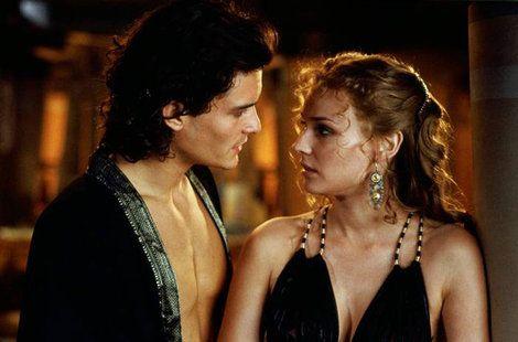 Helen's black gown in Troy