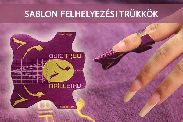 BrillBird műköröm alapanyagok, műkörömépítő tanfolyamok, köröm minták