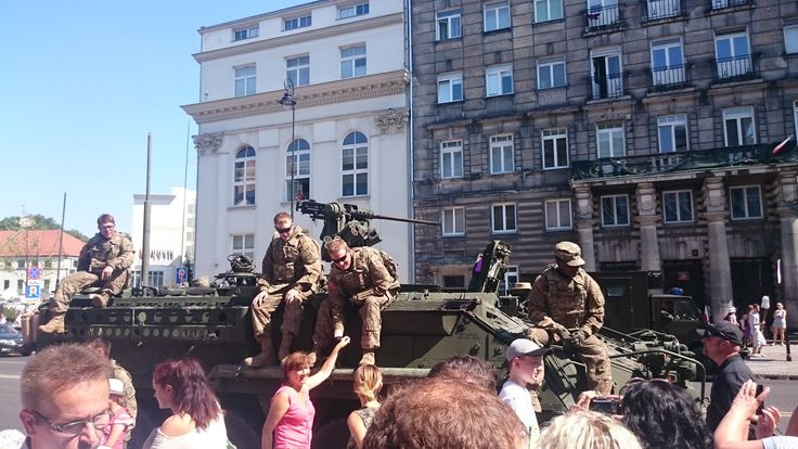 US Armed Forces, Polish Armed Forces Day, Warsaw