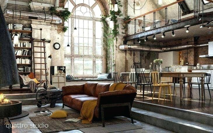 Feel Inspired With These New York Industrial Lofts Home Feels Industrial Loft Industrial Lofts For Rent Luxury Living Room Design Loft Living Space Loft Living