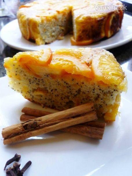Pomarančovo-makový koláč trošku inak (Orange Poppyseed Cake)