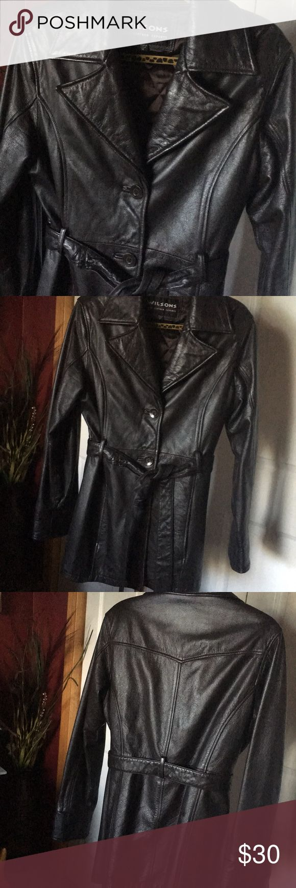 Wilsons Leather Jacket* Extremely nice brown leather