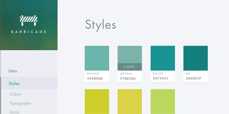 25+ Best Web Style Guide Ideas On Pinterest   App Style ...