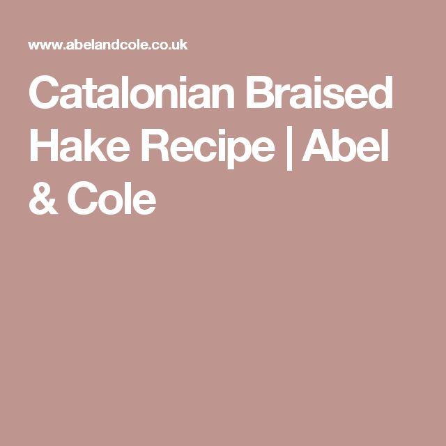 Catalonian Braised Hake   Recipe | Abel & Cole