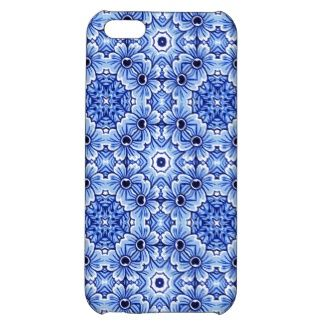 Trendy and pretty iPhone 5C case. Beautiful antique Dutch flower pattern design. For the collector of Delfts Blue pottery from the Netherlands, the hip trend setter, floral motif designer, vintage retro, nouveau art deco or traditional ceramics lover. Cute and fun gift for mom's birthday, Mother's day or Christmas. Classy and chic cover for the girly girl or elegant and sophisticated woman. Also available for Samsung S2 3 and 4, iPhone 3 4 and 5S, Droid Razr, iPod Touch 4G 5G, iPad and more.