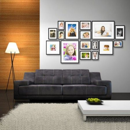 31 best mur cadres photos images on pinterest home ideas picture wall and hang pictures. Black Bedroom Furniture Sets. Home Design Ideas