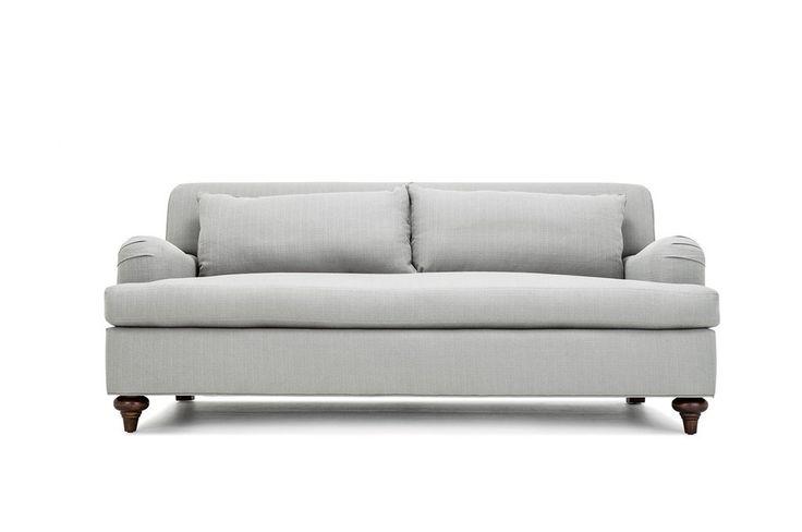 Whittier Custom Affordable English Roll Arm Sofa Hood
