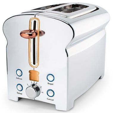 Michael Graves Design Toaster - jcpenney (it's bloomin' toast shaped!)