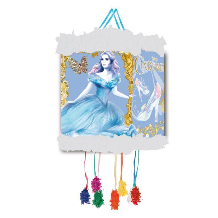 Piñata Viñeta Cenicienta #fiestacumpleaños #cumpleañosdisney #decoracioncumpleaños