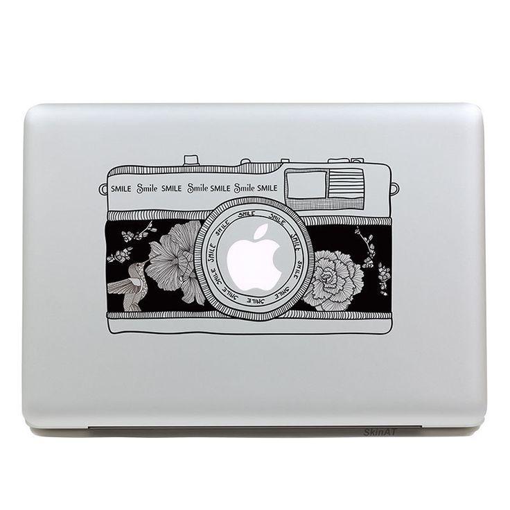 Aliexpress.com: Comprar Extraíble impermeable moda hermosa clásica de edad smile tableta de la cámara y la etiqueta del ordenador portátil para el ordenador portátil, 205 * 270 mm de cubierta del equipo pegatinas fiable proveedores en RayLine Fashion