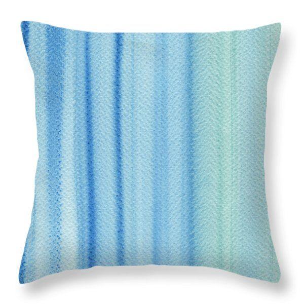 Throw Pillows - Hot Summer Throw Pillow by Kathleen Wong