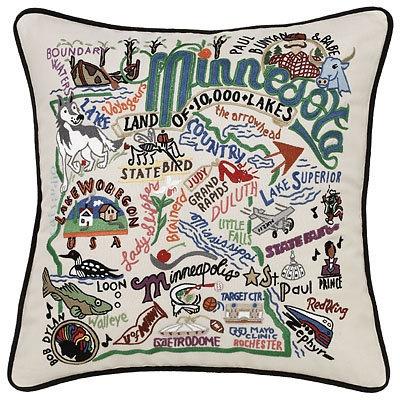 I love this- United States pillows- Minnesota
