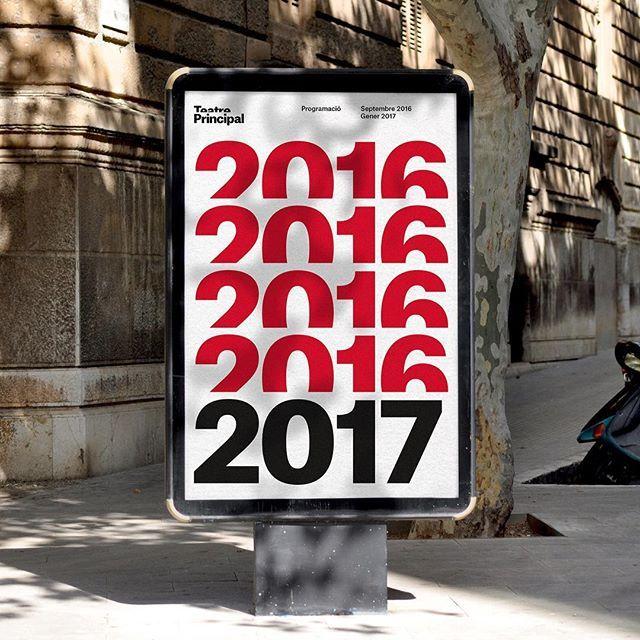 Identity and branding for Teatre Principal, Palma #identity #branding #poster #teatreprincipal #theatre #designbyatlas #palma
