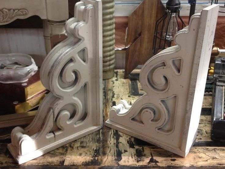"""You will love these corbels that are meticulouslydesigned and made to reflect an aged, antique and rustic beauty. All corbels are sold individually, not as a pair. Also, check out our matching 20"""" ceiling medallion.   eBay!"""