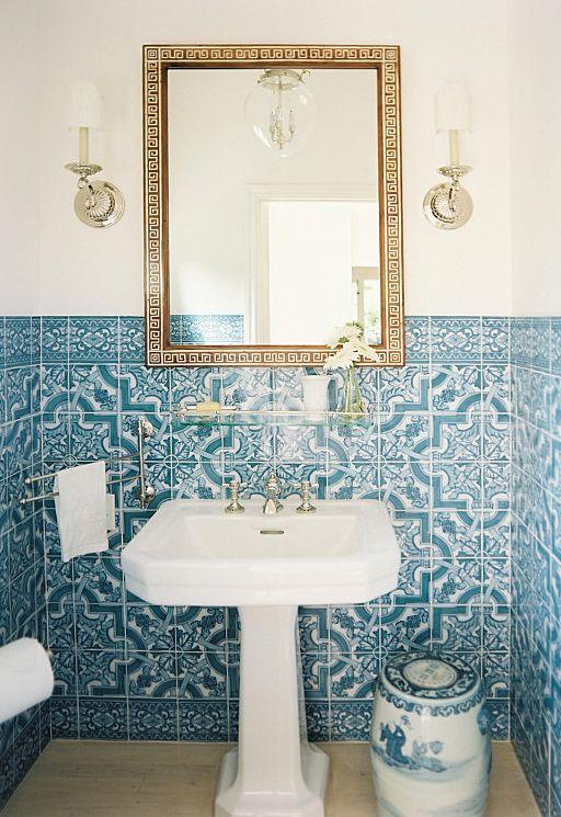 blue  amp  white Portuguese tiles  middot  Design BathroomBathroom IdeasSpanish. 1000  images about ceramic tiles on Pinterest   Naples
