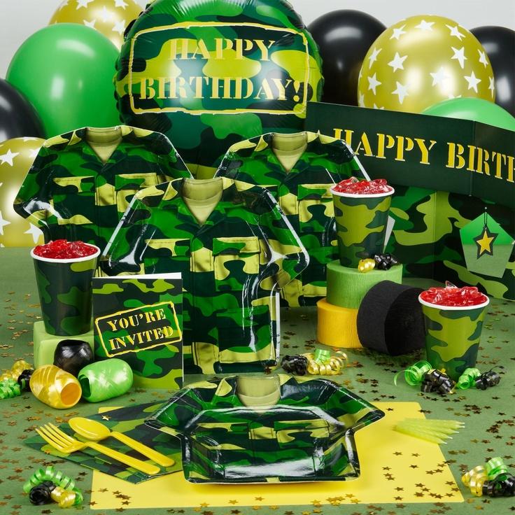 Открытки с днем рождения милитари