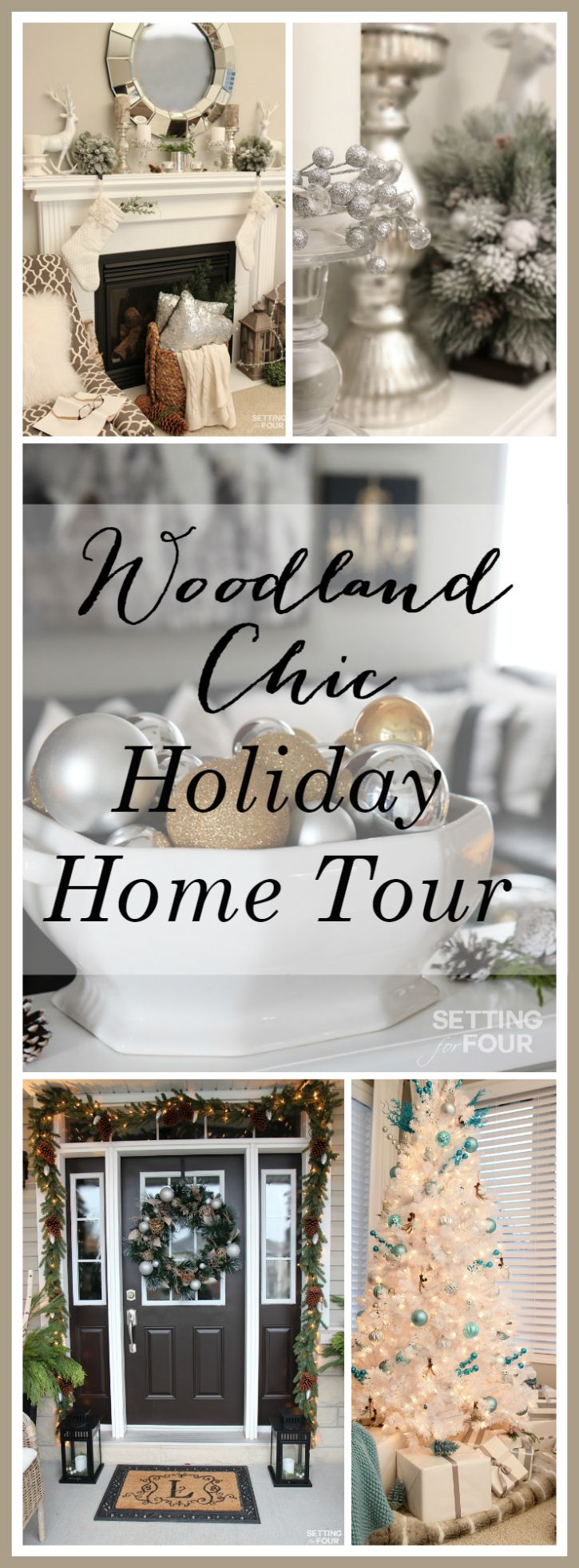 Christmas Home Tour With Country Living Magazine See My Holiday Home