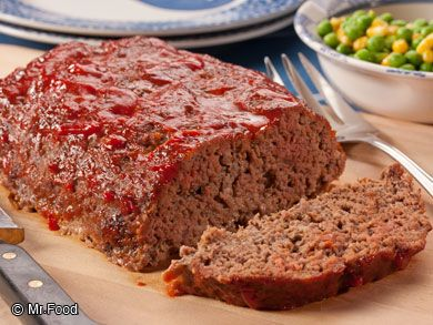 Better-Than-Ever-Meatloaf: This easy meatloaf recipe is sooo simple. You'll be amazed at how little it takes to make some everyone will love!