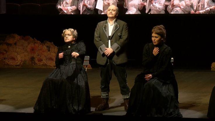 Mit Wahnfried von Avner Dorman gibt es in der Spielzeit 2016/17 endlich einmal wieder eine Uraufführung am Badischen Staatstheater. (Video des Badischen Staatstheaters Karlsruhe; Lizenz: Standard-YouTube-Lizenz)