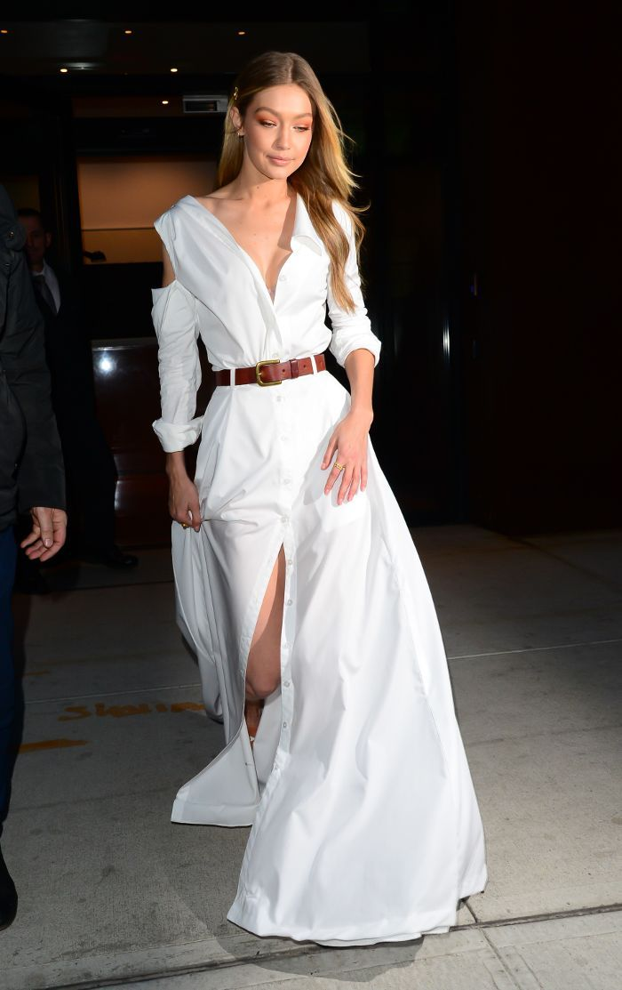 ce847a9b969 All-White Outfit Ideas Inspired by Our Favorite Celebs via  WhoWhatWearUK