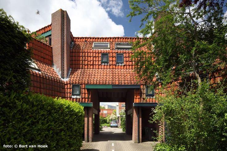 Jan Verhoeven, 87 woningen, Nieuwegein 1976-1981