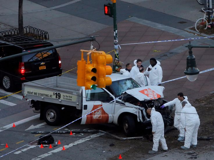 Rental truck policies are under scrutiny as one appeared to be used in the NYC terror attack that killed 8
