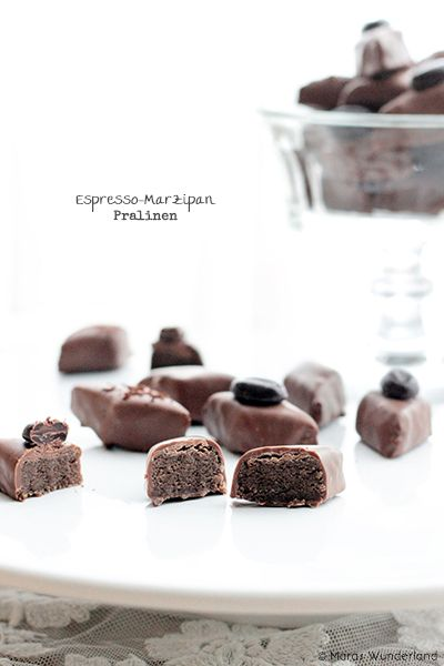Espresso-Marzipan Pralinen