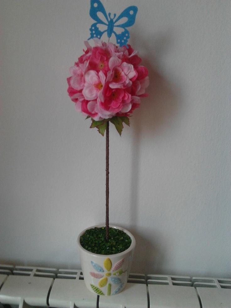 Topiario de Flores