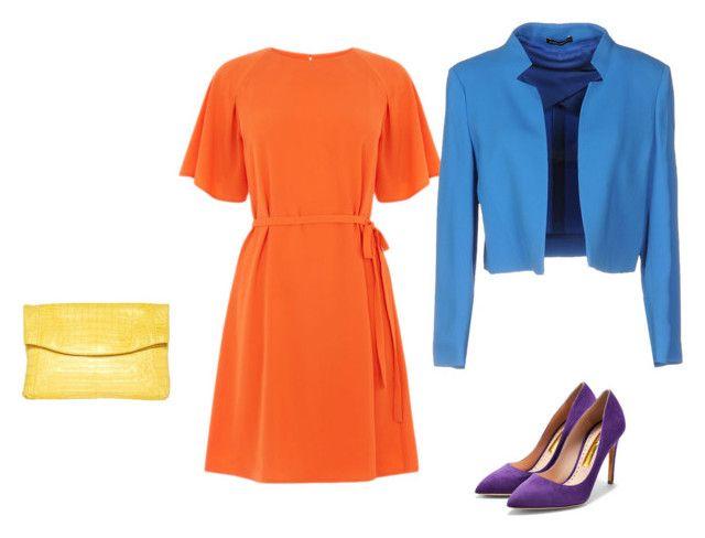 Color Set 5 Прямоугольник by elena230-1 on Polyvore featuring мода, Mariella Rosati, Rupert Sanderson and Nancy Gonzalez