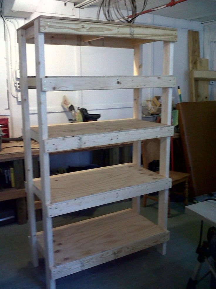 17 best images about diy on pinterest the family - Cheap storage shelves diy ...