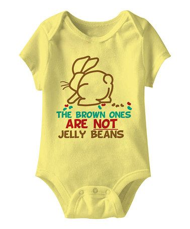 Look what I found on #zulily! Banana 'The Brown Ones' Bodysuit - Infant #zulilyfinds