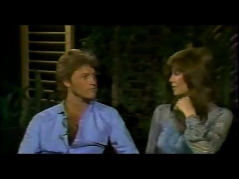 Andy Gibb And Victoria Principal - Interview 1981