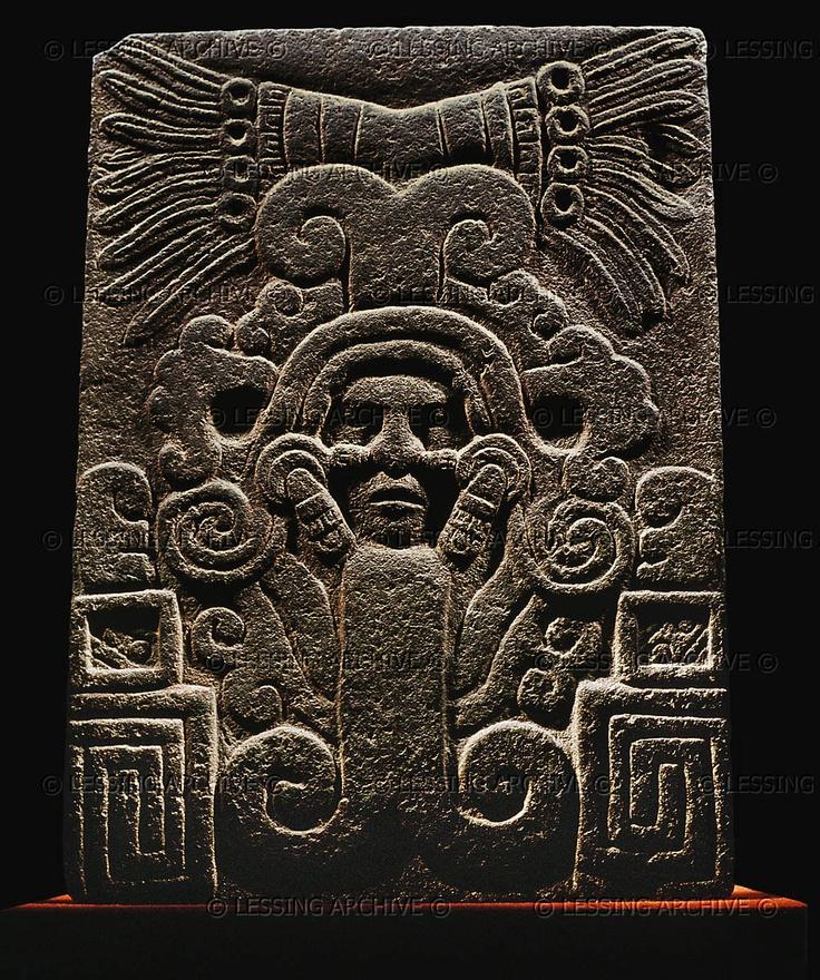 TOLTEC RELIEF 9TH The birth of the God Topiltzin,the major deity of the Toltecs. Museo Nacional de Antropologia, Mexico City, Mexico