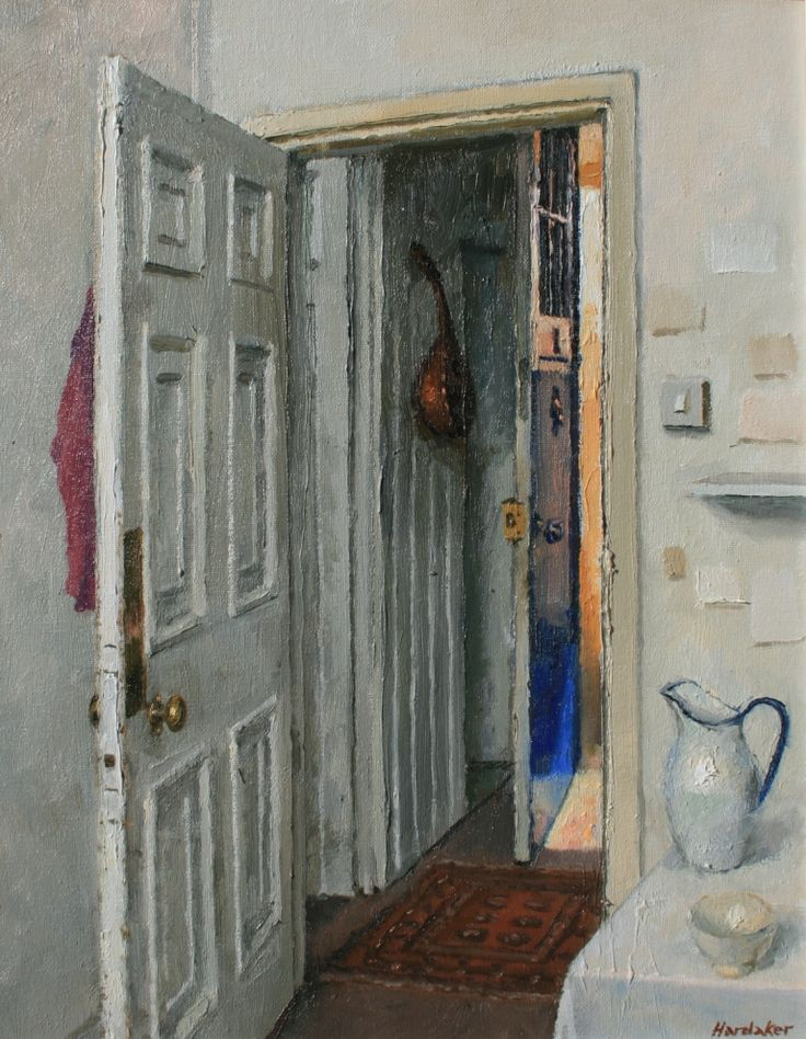 Charles HARDAKER - Blue Door and Sunlight