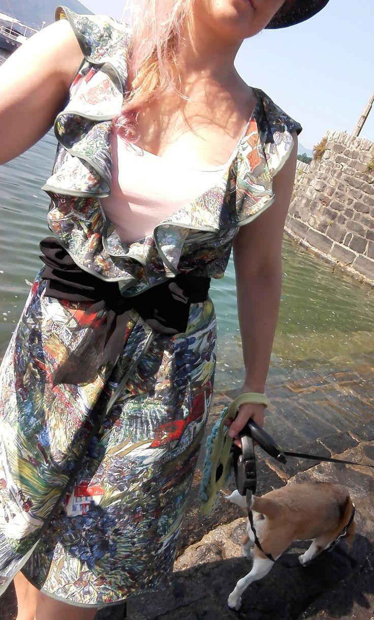 Patten in my blog! Ok no more excuse!! È tempo di andare al mare e indossare il costume! Con i miei nuovi copri-costumi ce la posso fare! Ok no more excuses!! With my new swimsuit's covers I can do it!