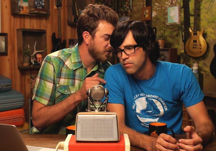 Rhett and link kissing