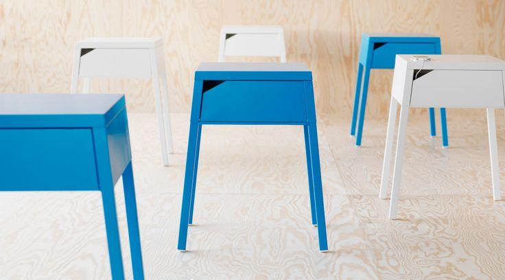 Bedroom Furniture - Beds, Mattresses & Inspiration - IKEA The nightstand!