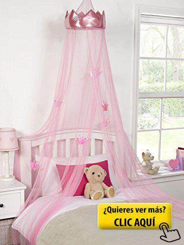 M s de 25 ideas incre bles sobre corona de cama en - Cama princesa nina ...