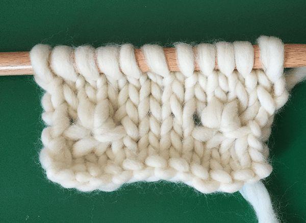 Comment tricoter des flocons de neige