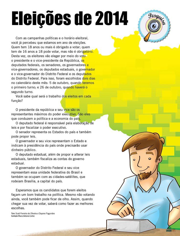 Ilustração para Revista Nosso Amiguinho - Outubro 2014 - CPB Casa Publicadora Brasileira.