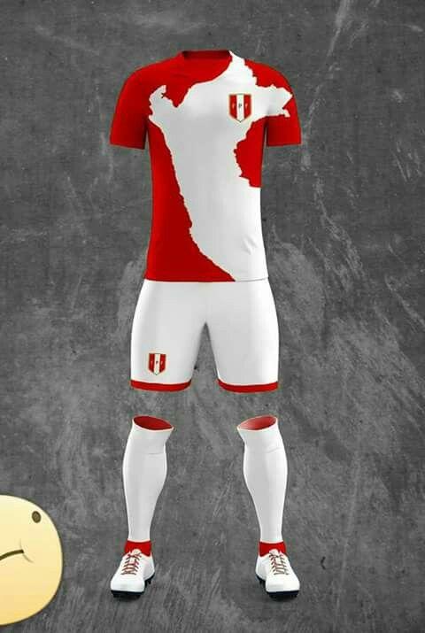 5e3e370e8c5 PERU - FIFA WORLD CUP RUSIA 2018 | Ideas :) | Peru, Football jerseys,  Football kits