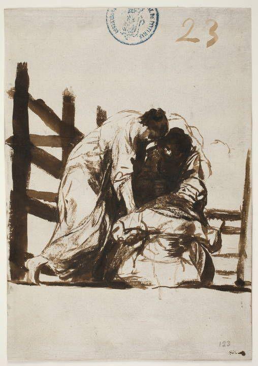 """Francisco de Goya  """" Socorro """"  c. 1812 Museo Nacional del Prado. Madrid"""