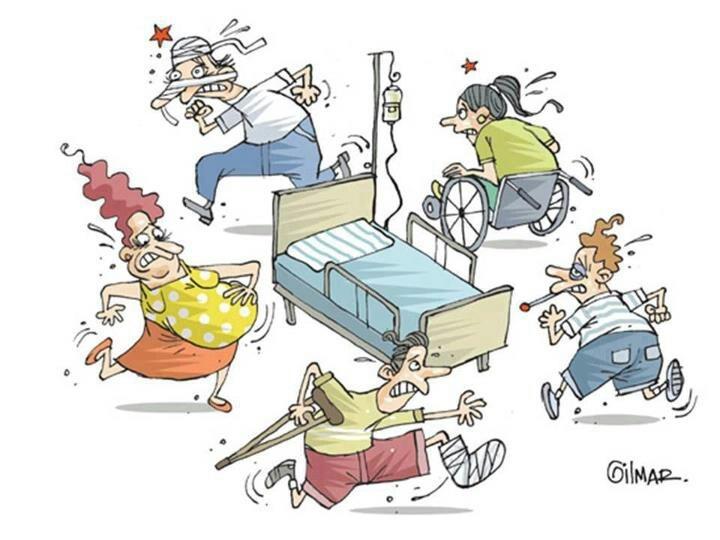 Nueva asignación de camas en la SS.
