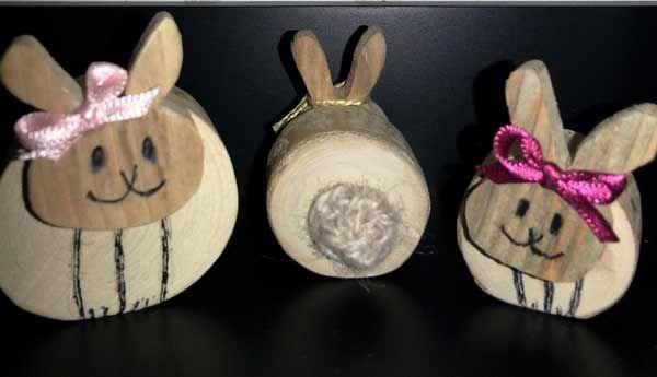 kaniner fram och bak