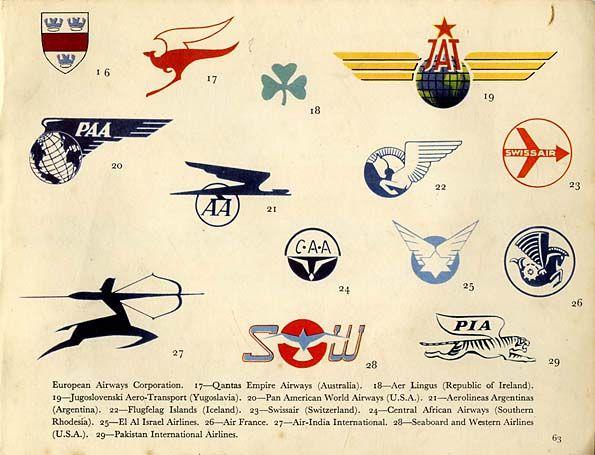 Airline badge design