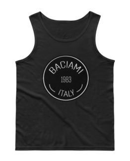 Baciami Men's Fitted Tank Top