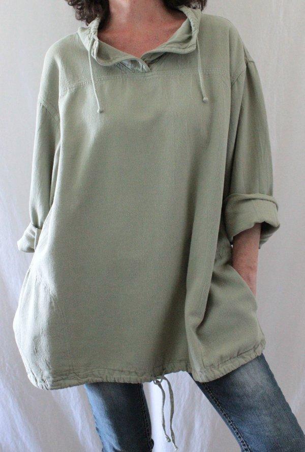 Petite Blouses Long Sleeve