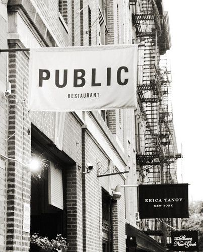 Public Restaurant NYC