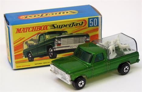 Lot 159 – 50a Matchbox Superfast Kennel – Vintage and Collectible Toys 02 Apr 2014 http://www.candtauctions.co.uk/